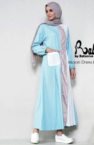 Jual Dress Muslimah Modern Rabiya dewihijab.com (38)