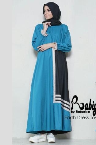 Jual Dress Muslimah Modern Rabiya dewihijab.com (48)