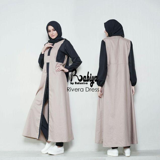 Jual Dress Muslimah Modern Rabiya dewihijab.com (51)